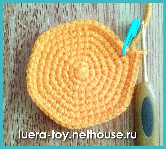 Схема вязания шара